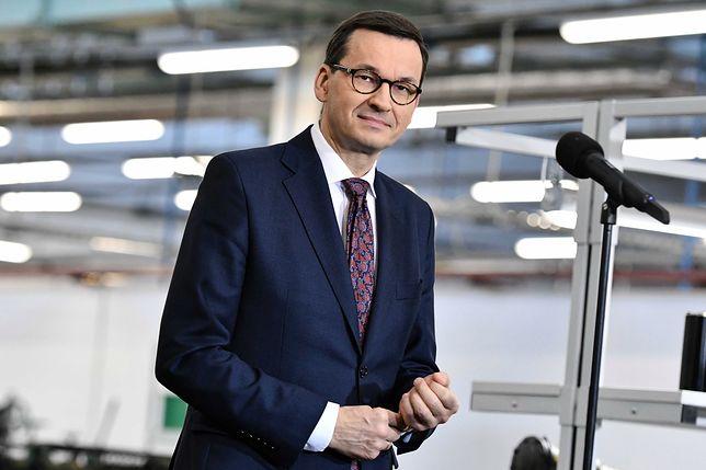 Premier Mateusz Morawiecki o sprawie Mariana Banasia: mamy plan B