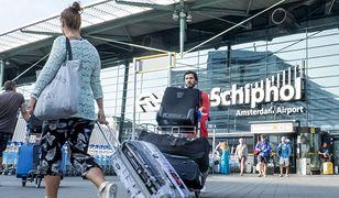 Amsterdamskie lotnisko Schiphol