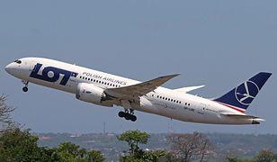 Samolot PLL LOT z Warszawy do Los Angeles lądował awaryjnie na Islandii