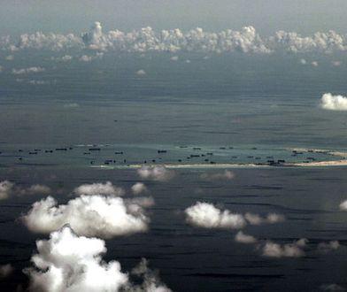 Prace strony chińskiej na rafie archipelagu Spratly