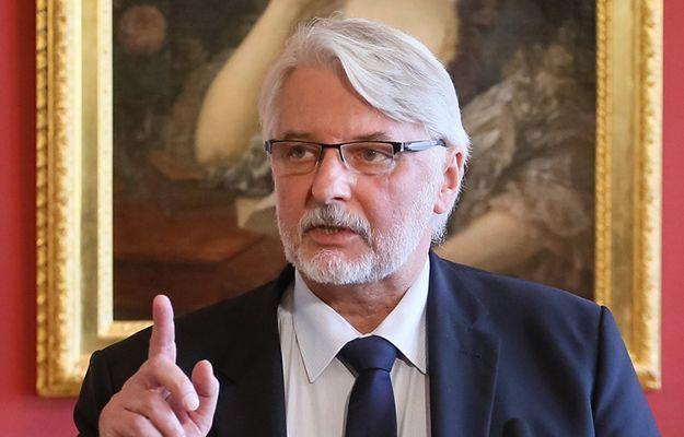 Szef MSZ Witold Waszczykowski spotkał się z doradcą prezydenta USA