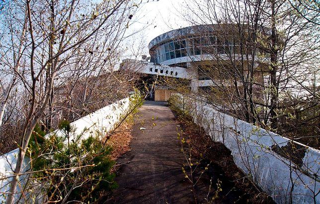 Opuszczone obserwatorium - wulkan Asama, Japonia