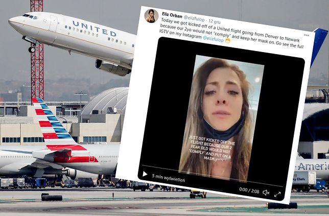 Matka dziewczynki nagrała wideo prosto z lotniska