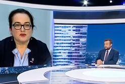 Posłanka Lewicy kpiła z prezydenta w TVP Info. Mina prowadzącego bezcenna