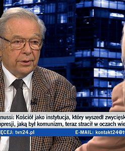 Krzysztof Zanussi ośmieszył się u Olejnik? Internauci wytknęli mu hipokryzję