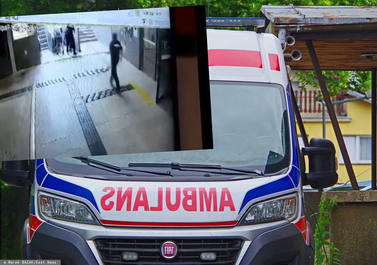 Poznań. Kobieta spadła z dzieckiem w wózku z ruchomych schodów