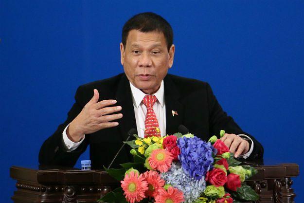 """Prezydent Filipin Rodrigo Duterte deklaruje zamiar """"odseparowania się"""" od USA"""