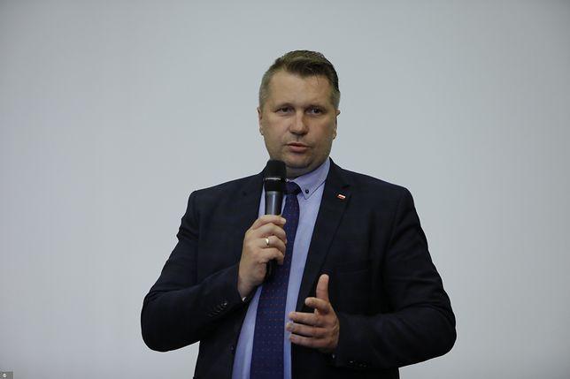 Koronawirus. Polska. Przemysław Czarnek z COVID-19