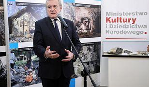 Minister Piotr Gliński chce wyjaśnić, dlaczego nie zorganizowano konferencji dot. Lecha Kaczyńskiego