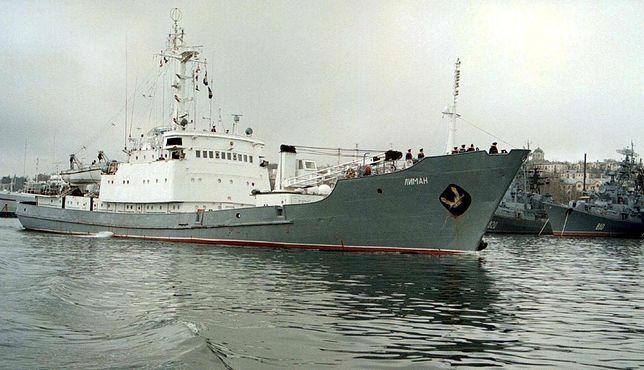 Rosyjski okręt zatonął po zderzeniu ze statkiem handlowym na Morzu Czarnym