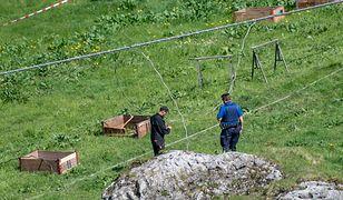 Na górze Titlis w Szwajcarii pękła lina kolejki gondolowej