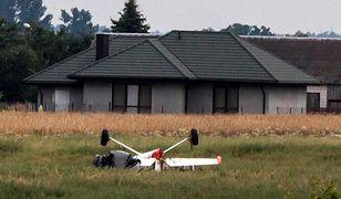 Zderzenie dwóch samolotów koło Radomia. Są wstępne ustalenia