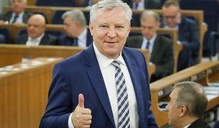 Zawieszony przez PiS senator Jan Dobrzyński ma 800 tys. zł długu. I kłopoty w partii