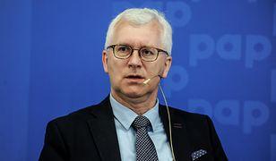 Wiceprezes Polskiego Towarzystwa Chorób Płuc prof. dr hab. n. med. Paweł Śliwiński