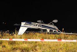 Samolot uderzył w ziemię, badają przyczyny wypadku