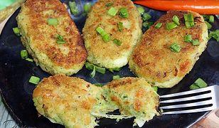 Kotlety brokułowe z mozzarellą. Miękkie i soczyste