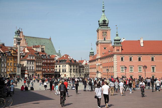 Warszawa. W poniedziałek w stolicy zaświeci słońce