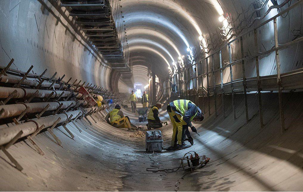 Warszawa. Postępują prace na drugiej linii metra