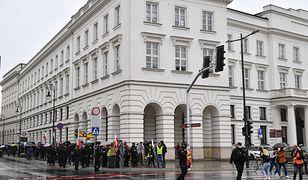 Warszawa. Protest antyszczepionkowców [ZDJĘCIA]
