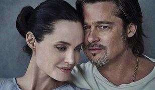 """W łóżku z Bradem i Angeliną na okładce """"Vanity Fair Italia"""""""