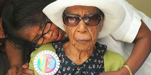 Zmarła Susannah Mushatt Jones - najstarsza osoba na świecie