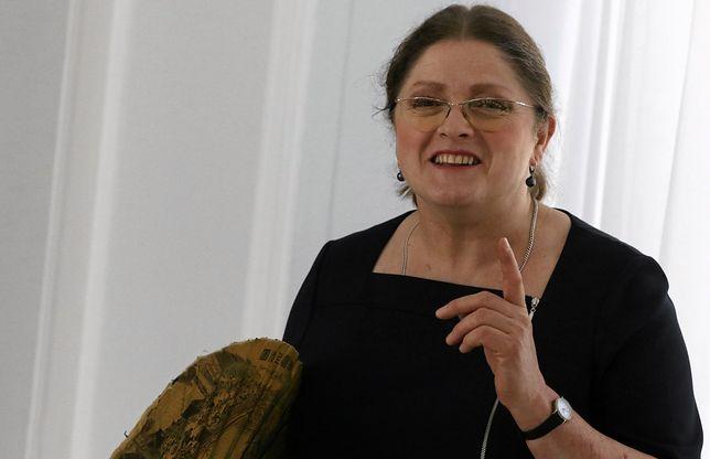 Krystyna Pawłowicz zwróciła się do Piotra Glińskiego