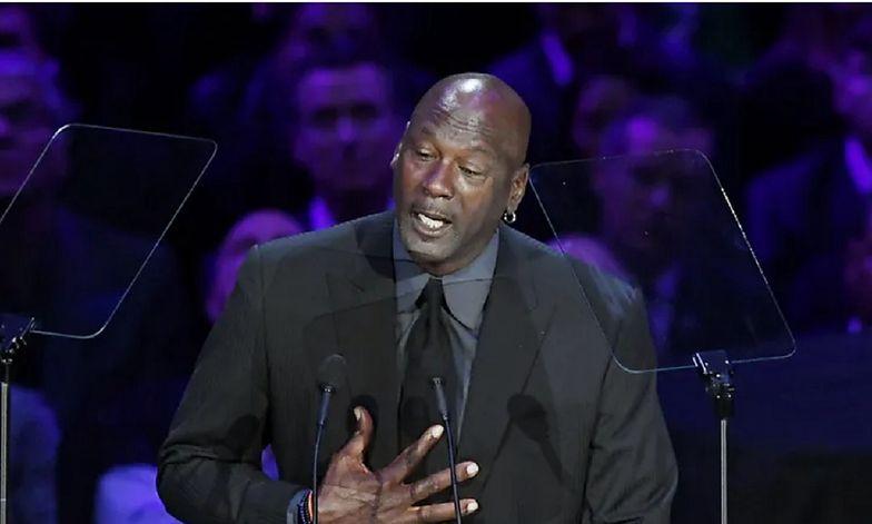 Wielki gest Michaela Jordana. Przekazał wielką kasę na szczytny cel