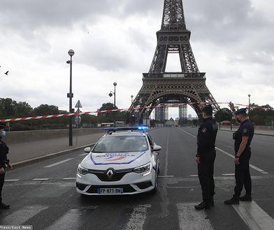Francja. Wieża Eiffla ewakuowana