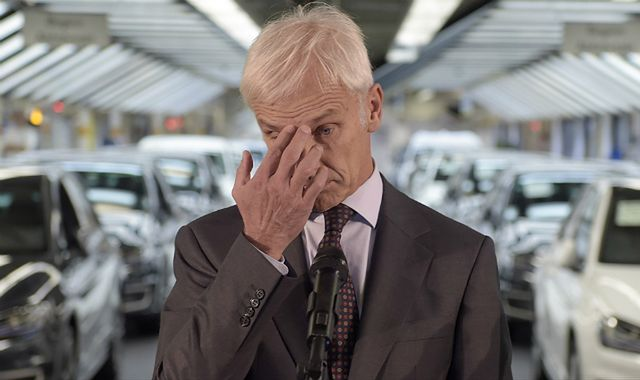 Matthias Mueller, prezes Volkswagena