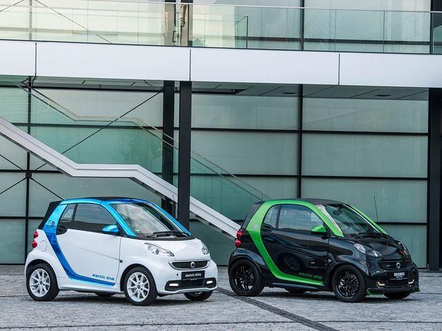 Elektryczny Smart ForTwo