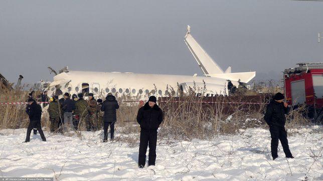 Katastrofa samolotu w Kazachstanie. Są zabici