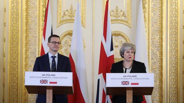 Morawiecki i May rozmawiali o niczym. Nikt nie wie, dokąd zmierza Zjednoczone Królestwo