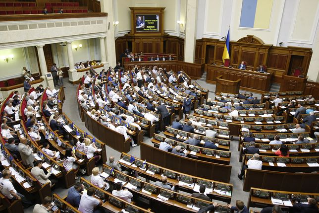 Granaty i fajerwerki zakazane w ukraińskim parlamencie