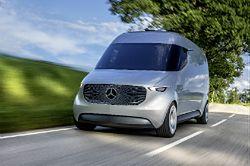 Mercedes Vision Van - przyszłość aut użytkowych