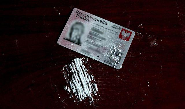 Podał policjantom dowód osobisty z amfetaminą