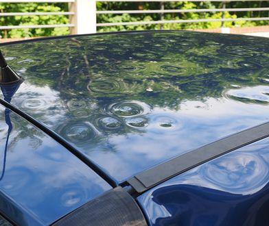 Jak ochronić samochód przed gradem?