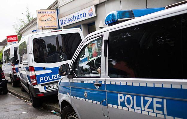 Niemiecka policja przeprowadziła obławy w poszukiwaniu islamistów