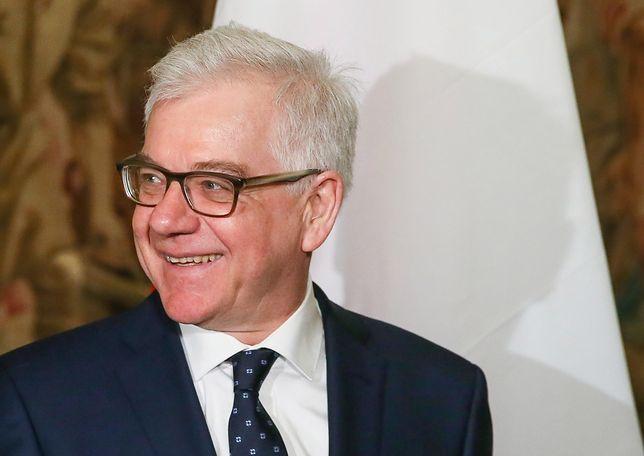 """Jacek Czaputowicz o wspólnym stanowisku Polski i Izraela. """"To byłoby dobre"""""""