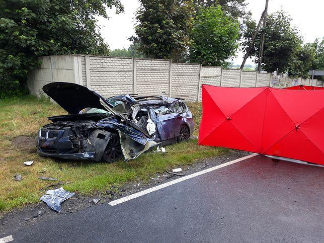 Tragiczny wypadek. Nie żyje 20-letni kierowca