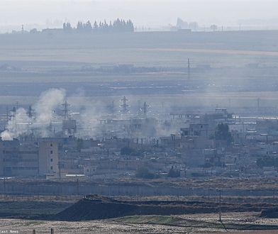 Wojna w Syrii. Ras al-Ain - miasto kontrolowane przez Kurdów zostało zbombardowane