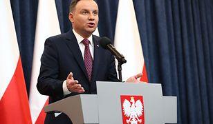Oświadczenie Andrzeja Duda ws. ustaw o KRS i SN