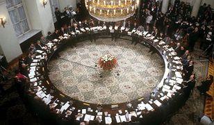 Obrady Okrągłego Stołu w siedzibie Urzędu Rady Ministrów PRL w Pałacu Namiestnikowskim