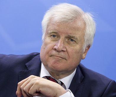 Szef niemieckiego MSW Horst Seehofer.