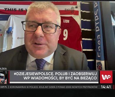 """Czarnecki: """"Mam nadzieję, że Gliński zawalczy o sport tak jak o kulturę"""""""