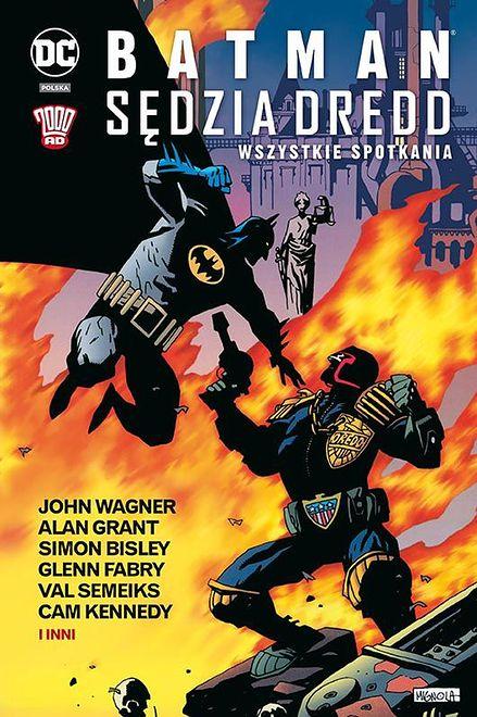 """Wzorcowy crossover. Recenzja """"Batman/Sędzia Dredd. Wszystkie spotkania"""""""