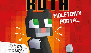 Minecraft (Tom 7). Minecraft. Pamiętnik 8-bitowego kota. Fioletowy portal. Tom 7