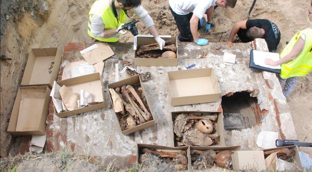 Ludzkie szczątki znalezione w Sosnowcu-Maczkach. To kości czerwonoarmistów