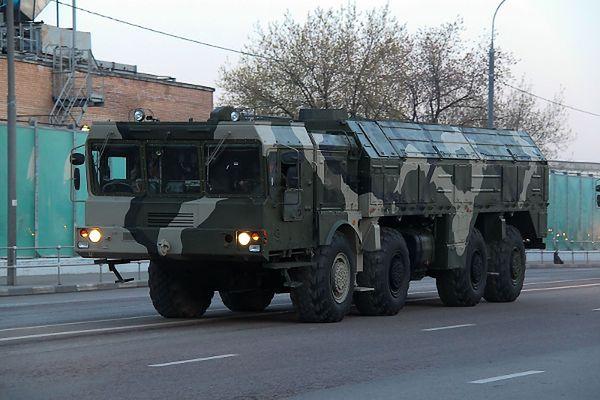 Ukraiński ekspert wojskowy: na granicy z Rosją pojawiły się Iskandery