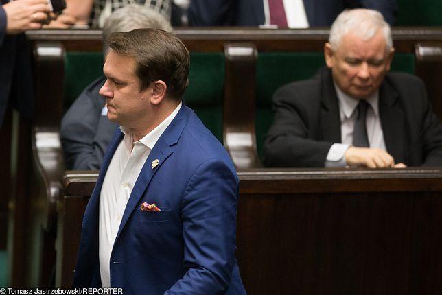 Jarosław Kaczyński bardzo zdenerwował się na Dominika Tarczyńskiego