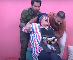 """""""Żart"""" w irackiej telewizji. Celebryci błagali o litość"""